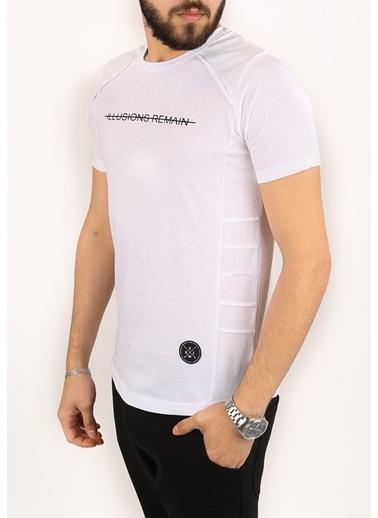 Madmext Tişört Beyaz